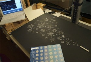 chalk-and-snow-flakes