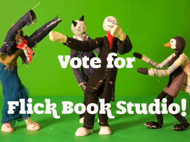 Vote for Flick Book Studio!